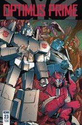 Optimus Prime #23 Cover B Tramontano