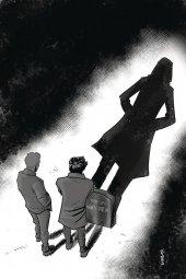 Nancy Drew and the Hardy Boys: The Death of Nancy Drew #1 1:25 Eisma B&w Virgin Inclusive