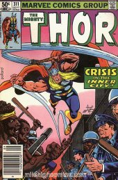 The Mighty Thor #311 Newsstand Edition