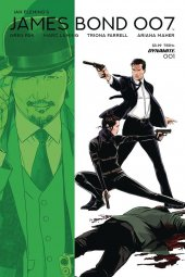James Bond 007 #1 Cover D Laming