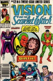 The Vision and the Scarlet Witch #12 Newsstand Edition