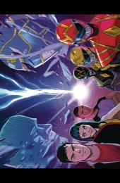 Go Go Power Rangers #32 Foil Wrap