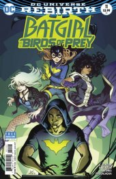 Batgirl and the Birds of Prey #11 Variant Edition