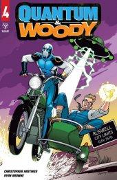 Quantum & Woody #4 Cover C Rosanas
