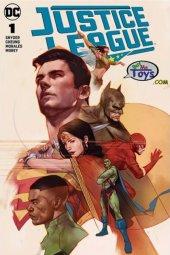 Justice League #1 Ben Oliver Variant A