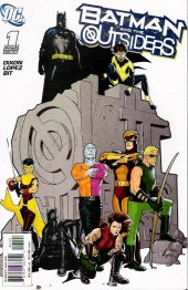 Batman and the Outsiders #1 Variant Edition