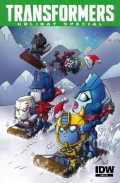 Transformers Holiday Special #1 Subscription Variant