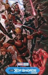 X of Swords: Creation #1 Mark Brooks Wraparound Variant