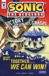 Sonic the Hedgehog #9 Cover B Yardley