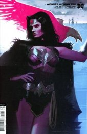 Wonder Woman #758 Card Stock Variant Edition