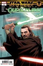 Star Wars: Age of Republic - Qui-Gon Jinn #1 Original Cover
