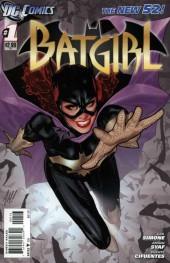 Batgirl #1 3rd Printing