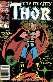 The Mighty Thor #370 Newsstand Edition
