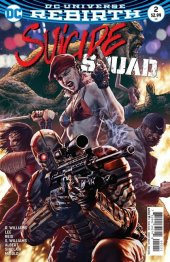 Suicide Squad #2 Variant Edition