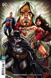 Heroes in Crisis #1 Mark Brooks 1:100 Variant Edition