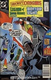 Secret Origins #37 Newsstand Edition
