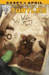 Teenage Mutant Ninja Turtles: Casey & April #2 Subscription Variant