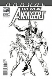 The New Avengers Annual #1 Arch Sketch Variant