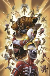 Mighty Morphin Power Rangers #40 SDCC Exclusive Joana LaFuente Variant