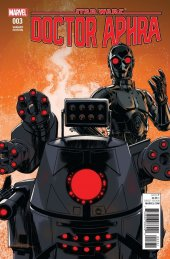Star Wars: Doctor Aphra #3 Lopez Droids Variant