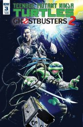 Teenage Mutant Ninja Turtles / Ghostbusters 2 #3 Cover B Galusha