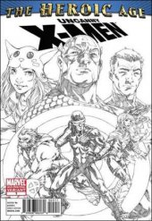 Uncanny X-Men: The Heroic Age #1 2nd Printing Variant