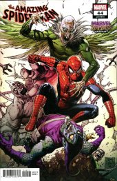 The Amazing Spider-Man #44 Daniel Marvel Zombies Variant