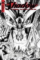 The Shadow #2 Cover F 1:30 Kirkham B&w In