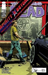 The Walking Dead #106 Infinity and Beyond Exclusive Variant