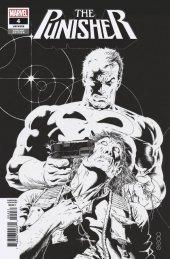 The Punisher #4 Zeck Hidden Gem B&W Variant