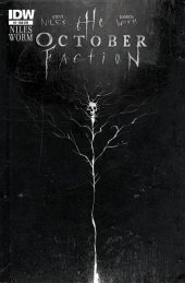 The October Faction #2 Subscription Variant