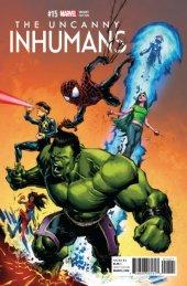 The Uncanny Inhumans #15 Portacio Champions Variant