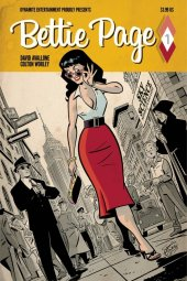 Bettie Page #1 Cover C Chantler