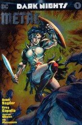 Dark Nights: Metal #1 Jim Lee Baltimore Comic Con Foil