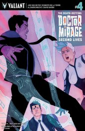 The Death-Defying Doctor Mirage: Second Lives #4 Cover B Wada