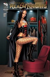 Grimm Fairy Tales Presents Realm Knights #1 Cover C Spay Black Cloak