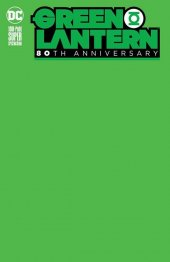 Green Lantern 80th Anniversary 100-Page Super Spectacular #1 Blank Variant Cover
