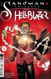 The Sandman Universe Presents: Hellblazer #1 Declan Shalvey Variant