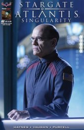 Stargate Atlantis: Singularity #2 special Premium Limited Edition Flashback Photo Cover