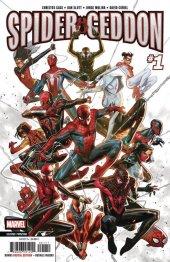 Spider-Geddon #1 2nd Printing Molina Variant