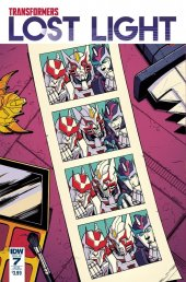 Transformers: Lost Light #7 SUB-A Cover
