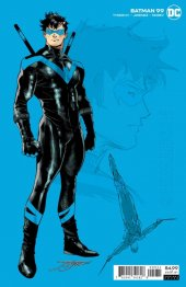Batman #99 1:25 Incentive Nightwing Card Stock Variant Edition