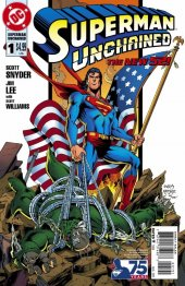 Superman Unchained #1 75th Anniv Variant Edition Reborn Cvr