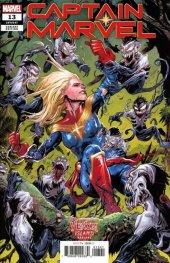 Captain Marvel #13 Josh Cassara Venom Island Variant