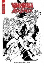 Vampirella / Red Sonja #7 1:7 Incentive