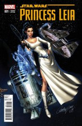 Star Wars: Princess Leia #1 Campbell Connecting C Variant