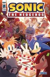 Sonic the Hedgehog Annual 2020 #1 Original Cover