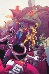Mighty Morphin Power Rangers #31 Baltimore Comic Con Exclusive Connecting Variant