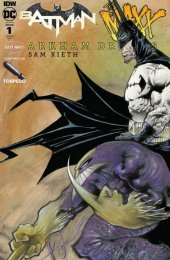 Batman / The Maxx: Arkham Dreams #1 Albert Moy & Torpedo Comics Sam Kieth Variant Cover