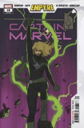 Captain Marvel #18 2nd Printing Molina Sketch Variant